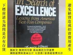 二手書博民逛書店英文書罕見In Search of EXCELLENCE共360頁Y15969