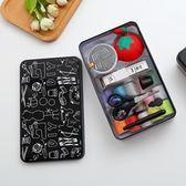 聖誕繽紛節❤針線套裝家用韓國可愛大號高檔針線盒套裝便攜式彩色手縫針粗線包