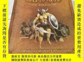 二手書博民逛書店Conan罕見the Barbarian(蠻王柯南)Y6856