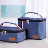 鋁箔加厚飯盒袋保溫手提袋防潑水便當盒布袋新款【好康回饋◇85折】