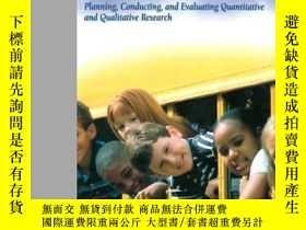二手書博民逛書店Educational罕見Research: Planning Conducting And Evaluating