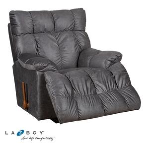 La-Z-Boy 搖椅式休閒椅 10T715 布質款 炭灰色
