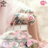 韓國 浪漫甜采花漾棉質內搭褲白粉藍2 款210213 ~水娃娃  ~