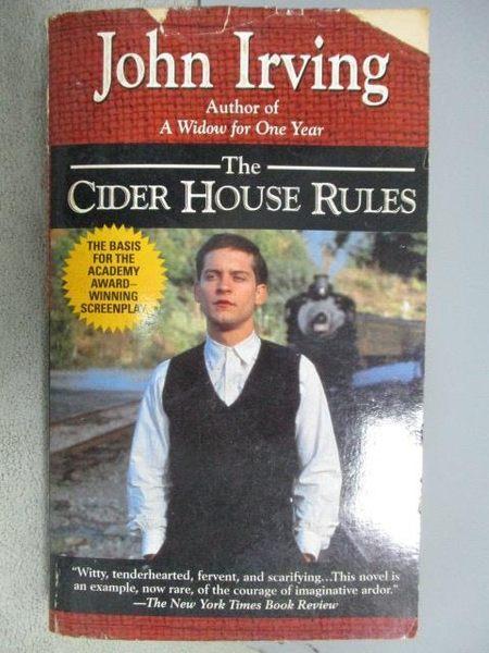 【書寶二手書T1/原文小說_MLS】The Cider House Rules_John Irving