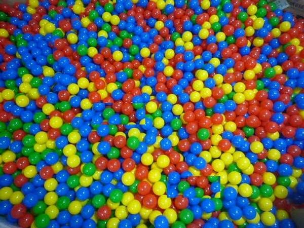 [衣林時尚] 台灣製彩球 7cm 1000個 CE認證 4色