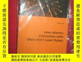 二手書博民逛書店Laser-plasma罕見Interaction with U