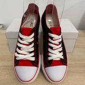 厚底懶人鞋潮帆布鞋休閒鞋(36-43號/222-7998)
