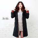 雨衣 格紋防水雨衣/風衣外套【EL1006】 BOBI  04/07