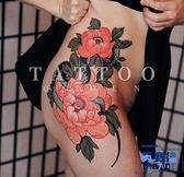 【買一送一】浮世繪花朵與蟒蛇 紋身貼刺青【英賽德3C數碼館】