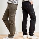 立體口袋設計百搭工作褲2色