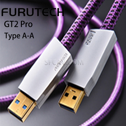 【竹北勝豐群音響】Furutech 古河 GT2 Pro Type A-A USB數位訊號線 傳輸線(1.2M)