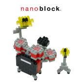 【日本KAWADA河田】Nanoblock迷你積木-紅色爵士鼓 NBC-123