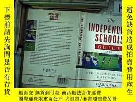 二手書博民逛書店THE罕見INDEPENDENT SCHOOLS GUIDE 2003 2003年獨立學校指南Y203004