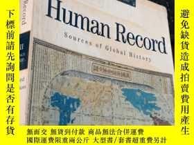 二手書博民逛書店The罕見Human Record Sources of Global HistoryY5834 Alfred