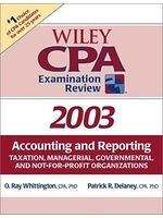二手書 Wiley CPA Examination Review 2003: Accounting and Reporting Taxation, Managerial, Governmental  R2Y 0471265004