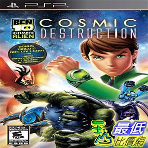 [103 美國直購 ShopUSA] 本10:終極異形(PSP) Ben 10: Ultimate Alien (PlayStation Portable) $1134