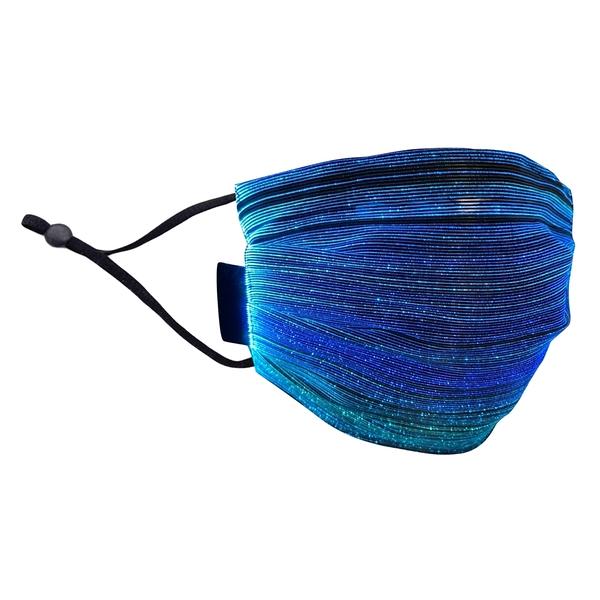 【3期零利率】全新 RM-L101 幻彩漸變LED發光口罩 成人內襯款 派對必備 萬聖節裝扮 七彩顏色
