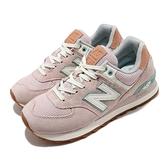 New Balance 休閒鞋 NB 574 Beach Cruiser 粉 綠 女鞋 運動鞋 復古慢跑鞋 【ACS】 WL574BCNB