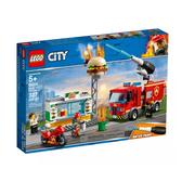 【LEGO 樂高 積木】 LT-60214 City城市 漢堡餐廳火災救援 (327pcs)