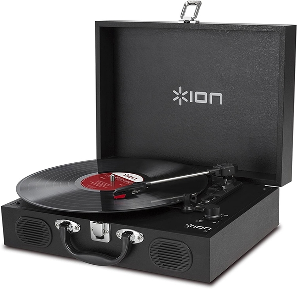 [9東京直購] ION Audio 手提箱式電唱機 Vinyl Transport Portable Briefcase Style Turntable with Built-In