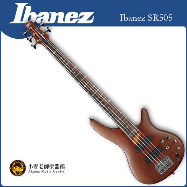 【小麥老師樂器館】免運費 全新 公司貨 Ibanez SR505 電貝斯 四弦 貝斯 BASS 電吉他 原廠