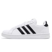 Adidas Grand Court 男款白色基本款休閒鞋-NO.F36392