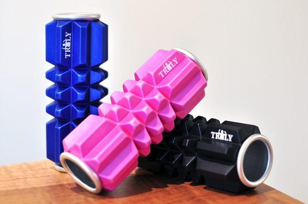 TrulyMan 海外御用小滾筒:方便攜帶不佔空間,肌筋膜放鬆、熱身皆好用!