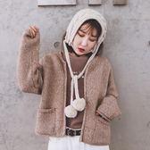 圍巾帽 韓國chic實用針織混色毛線護耳耳罩冬季可愛防風包頭帽保暖小圍脖 99免運 萌萌