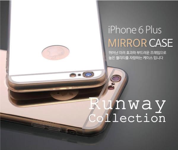 【R】 iphone 6s 玫瑰金 TPU電鍍鏡面 矽膠全包邊 透明 邊 iphone 6 plus 防摔 軟殼 手機殼