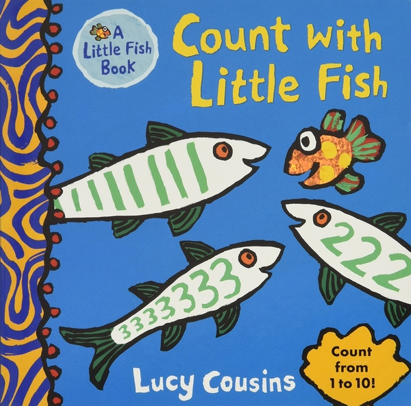 Count With Little Fish 小魚數數 硬頁書