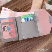 新款錢包女2018短款學生復古風潮韓版時尚個性超薄折疊小清新簡約-Ifashion