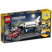 樂高積木 LEGO《 LT31091 》創意大師 Creator 系列 - 太空梭運輸車╭★ JOYBUS玩具百貨