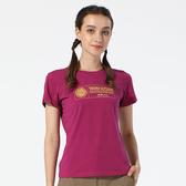【TAKAKA】女超柔舒適棉T-年輪『葡萄紫』M62210 戶外 休閒 運動 露營 登山 騎車 短袖 圓領
