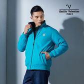 Emilio Valentino范倫鐵諾經典防風鋪棉保暖外套(丈藍/彩藍)
