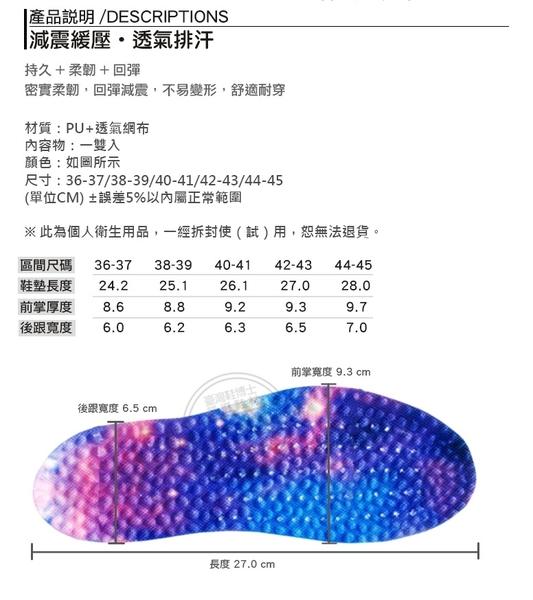 爆米花運動鞋墊(高品質)抗壓抗震 柔韌耐穿 不易變形╭*鞋博士嚴選鞋材*╯