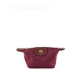 【LONGCHAMP】小零錢包(紅酒色)3693089C87