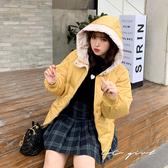 中大尺碼  連帽保暖鋪棉外套 -共3色- 適XL~3L《 20096 》CC-GIRL