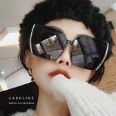 《Caroline》年度最新網紅款新潮流行百搭抗UV時尚太陽眼鏡 72221