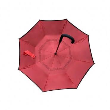 簡約風雙層反向傘 混款