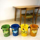 【週年度促銷】歐式垃圾桶創意家用 廚房衛生間臥室可愛紙簍簡約無蓋垃圾筒個性