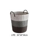 洗衣籃臟衣服收納筐家用衣簍衣物北歐衣服框藤編桶子塑膠簍 亞斯藍