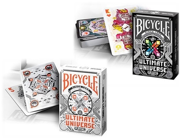 【USPCC 撲克】Bicycle ultimate universe playing cards colored黑/light白