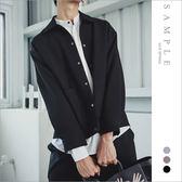 現貨 韓國製 襯衫式外套 厚磅雪訪【OS20225】- SAMPLE