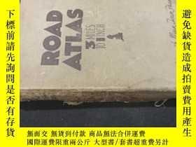 二手書博民逛書店Road罕見atlas 3 Miles to Inch 民國英文Y258675 出版1926