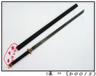 郭常喜與興達刀具-漢刀(D0015)手工鍛打積層鋼,含鞘 高雅大方