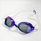 (B8) SPEEDO 成人競技鏡面泳鏡 SPEEDSOCKET 2運動泳鏡 日本製 SD810897F269紫白 [陽光樂活]