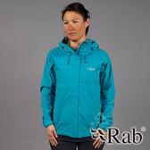 【RAB 英國】DOWNPOUR 女 單件式 防水外套『塔斯曼海』QWF63 雨衣│釣魚外套│防風外套