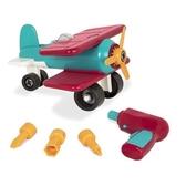 美國【B.Toys】雙翼戰鬥機 Battat系列BT68024[衛立兒生活館]