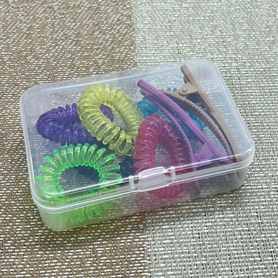 口罩收納盒 收納盒 塑料盒 卡片收納 首飾盒 文具盒 藥盒 透明萬用收納盒(04)【G019】生活家精品