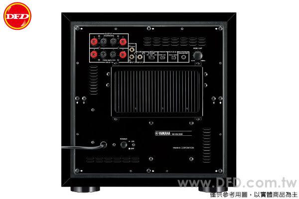 YAMAHA 山葉 NS-SW300 超低音 木紋黑 獨家技術 Twisted Flare Port 公司貨